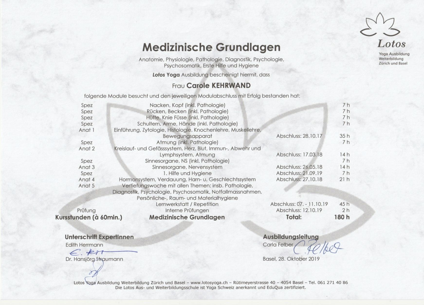 Diplôme_Base_Médicale_LOTOS