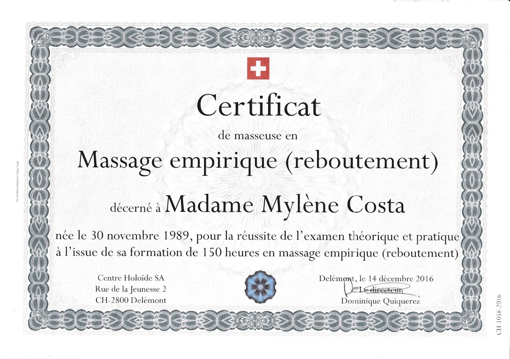 Massage-Empirique